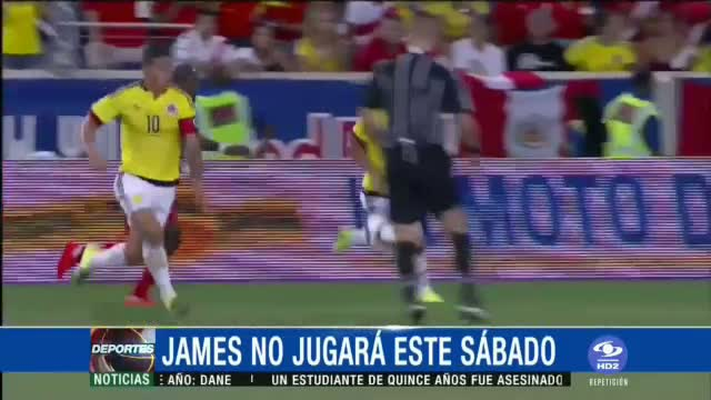 James Rodriguez sakatlandı